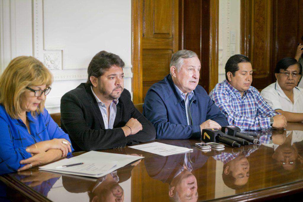 El ministro Perassi anunció el cronograma de actividades por el día de la memoria.