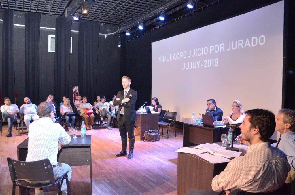 Primer simulacro de Juicio con Jurado en Jujuy